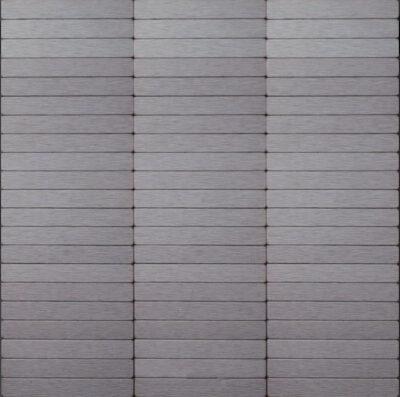 Iisi-laatta tumma harjattu alumiini